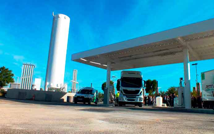 LNG France conçoit et construit des stations-service en France