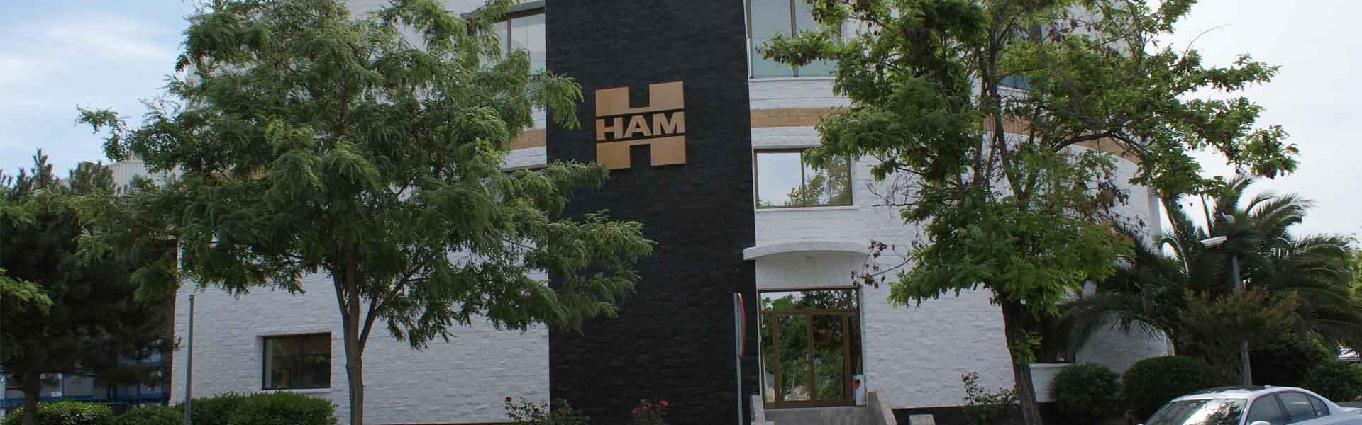 Groupe HAM est situé dans le Polígono Sant Ermengol, parcelle 11. Abrera, Barcelone. GPS: 41.518785, 1.892046