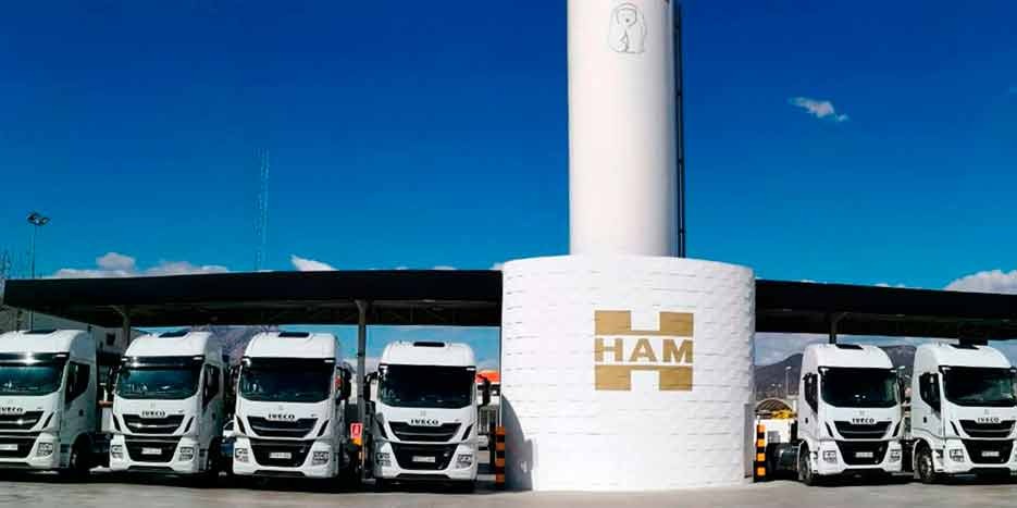 Groupe HAM dispose d'un vaste réseau de stations-service qui vous permettent de faire le plein de gaz naturel liquéfié (GNL) et de gaz naturel pour véhicules (GNV).