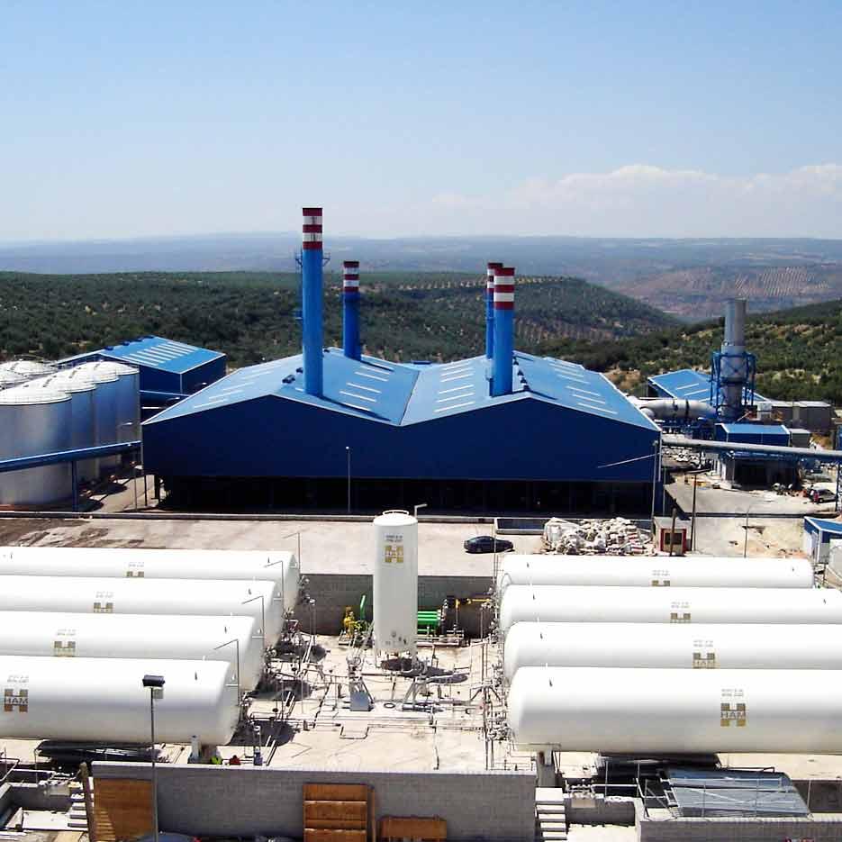 Groupe HAM a été en charge de la conception, de la construction et de la mise en service d'une installation satellite de regazéification GNL pour Celvi
