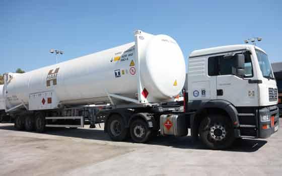 LNG France à travers de Transports HAM assure le transport routier de produits cryogéniques et inflammables