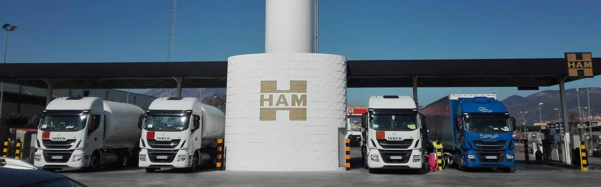 Stations-service Groupe HAM GNL-GNC Groupe HAM-LNG France